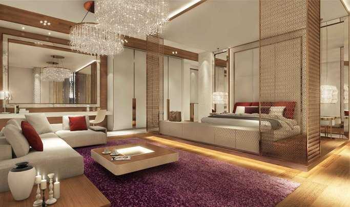 Noura Tower – Living Room