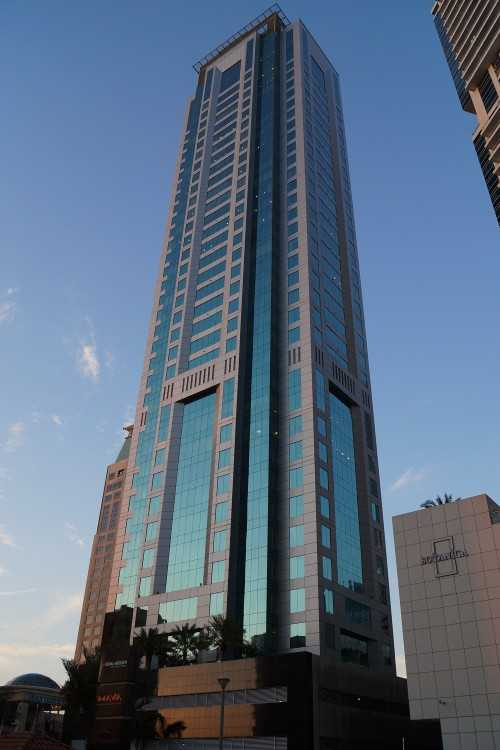 Al Habtoor Business Tower – View