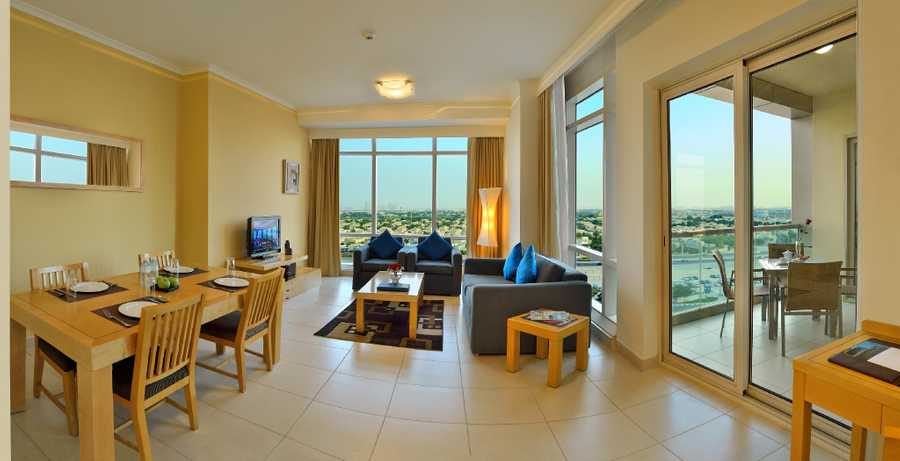 Liwa Heights – Living Room