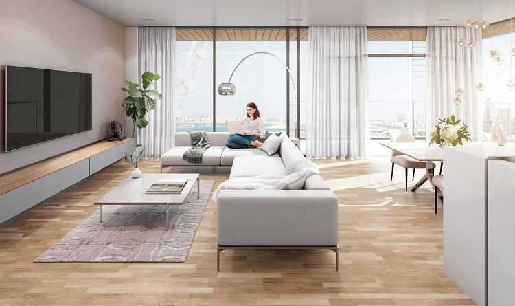 Bluewaters Residences 9 – Living Room