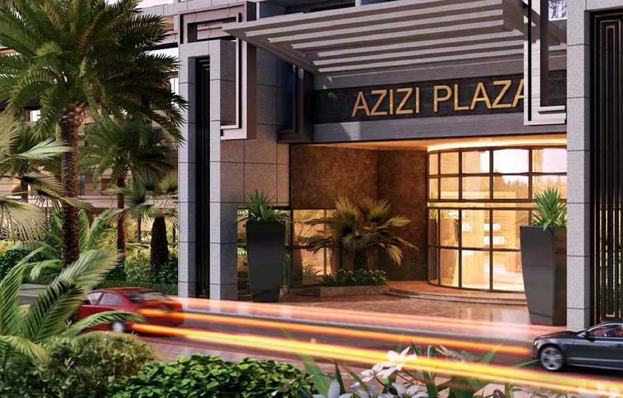 Azizi Plaza – Front Entrance