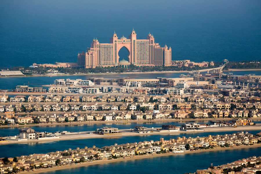 Palm Jumeirah – Area View