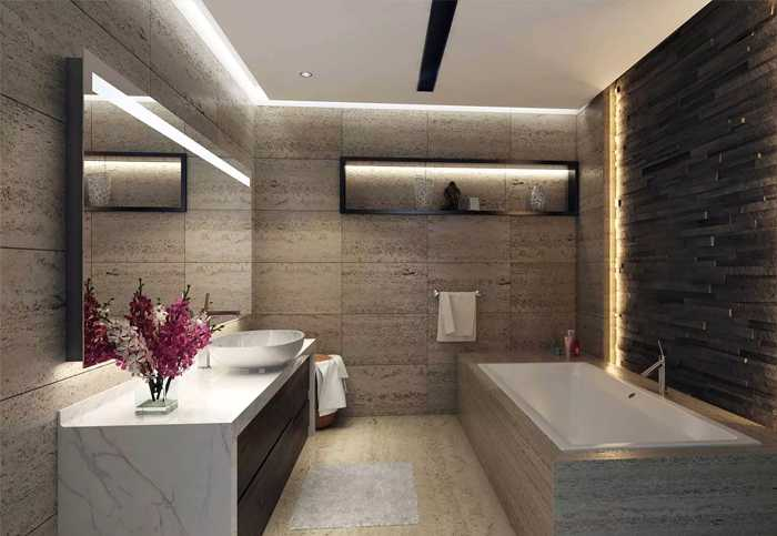 Elite Business Bay – Bathroom