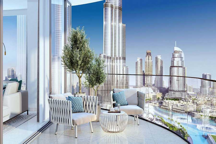 Grande Signature Residences – Balcony