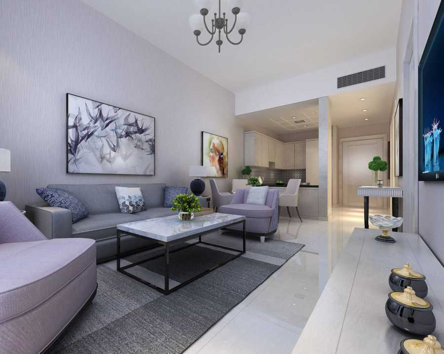 Lucky 1 Residences – Living Room