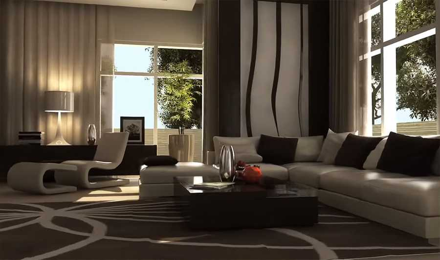 Polo Townhouses – Living Room