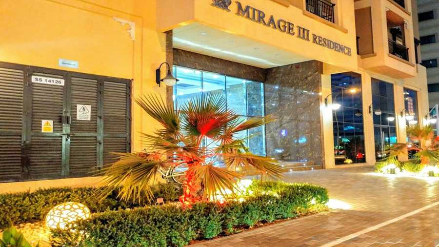 Mirage 3 Residence – Entrance