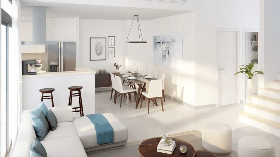 Sama Townhouses – Living Room