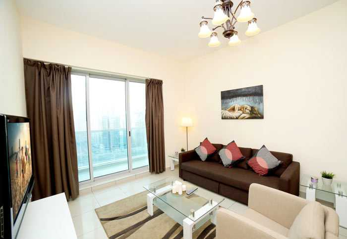 Armada Towers – Living Room