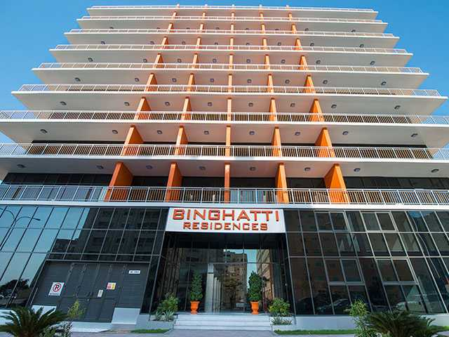 Binghatti Residences – Entrance