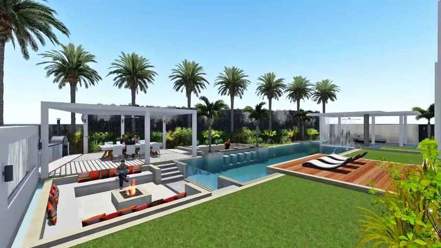 Millennium Estates – Pool Area