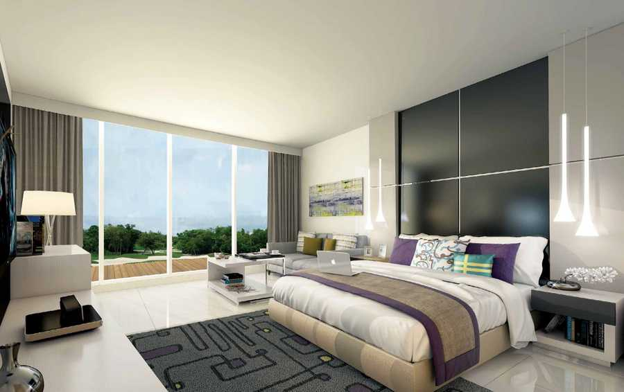 Golf Condominiums and Townhouses – Bedroom
