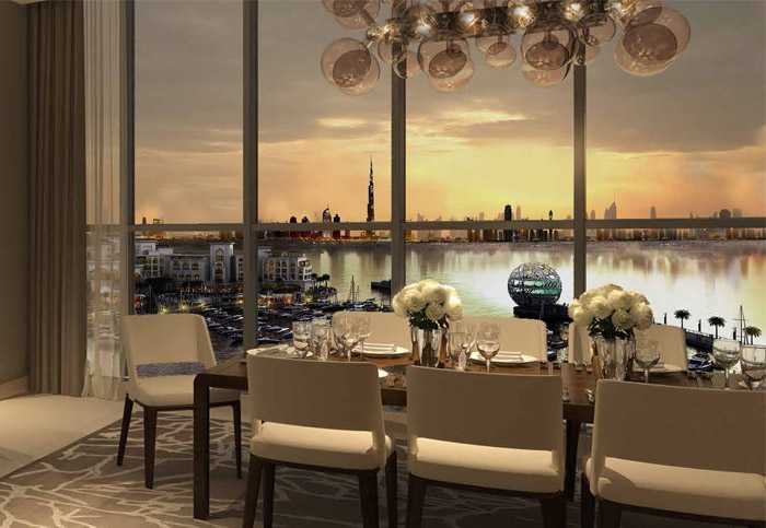 Dubai Creek Residences – Dining Area