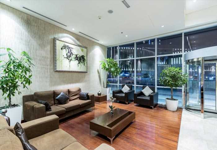 Al Fattan Marine Towers – LIVING ROOM