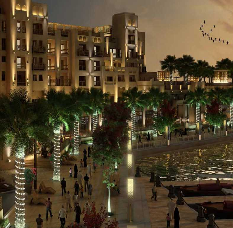 Manazel Al Khor – Night View