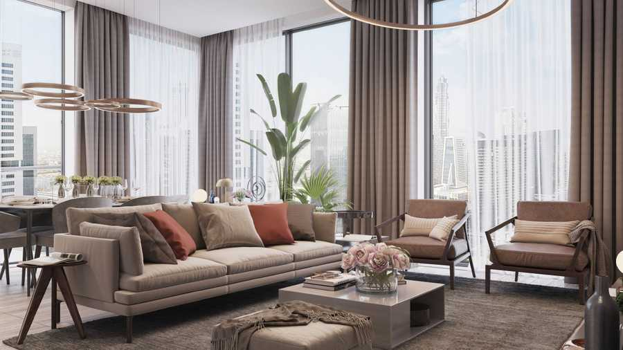 Ahad Tower – Living Room