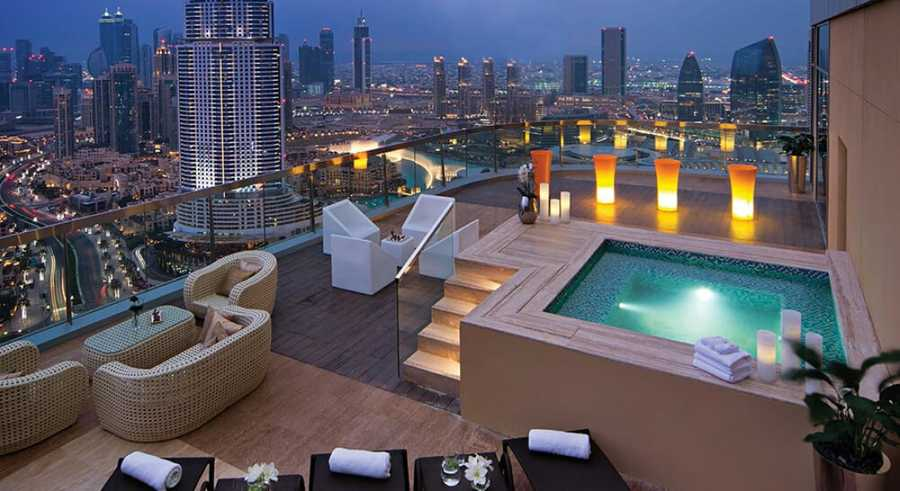 DAMAC Maison The Voleo – Terrace Lounge
