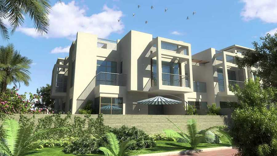 Polo Townhouses – Exterior