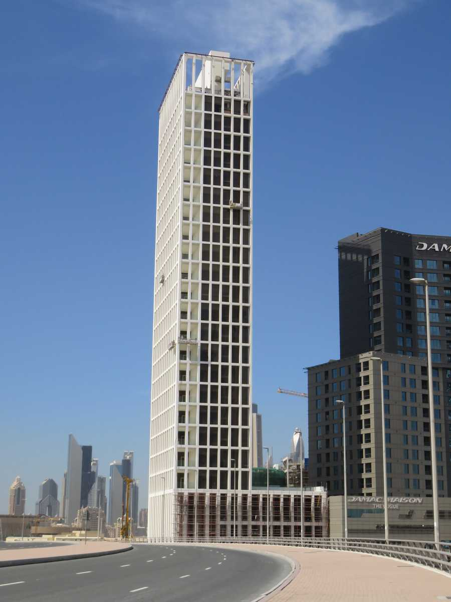 Fareed Tower – Full View