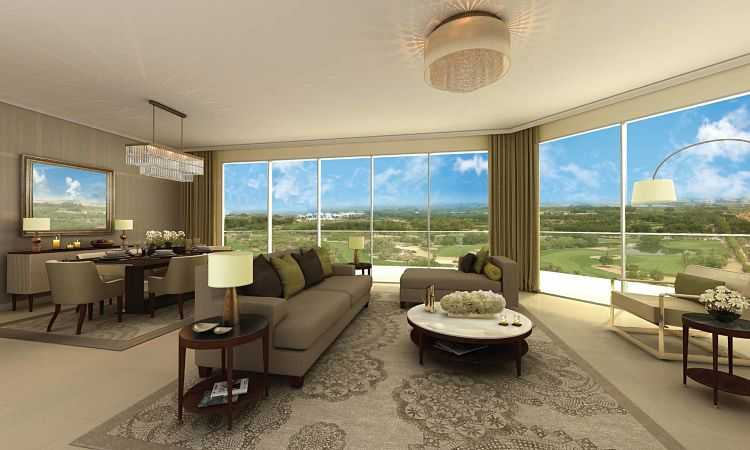 The Hills Apartments – Living Room