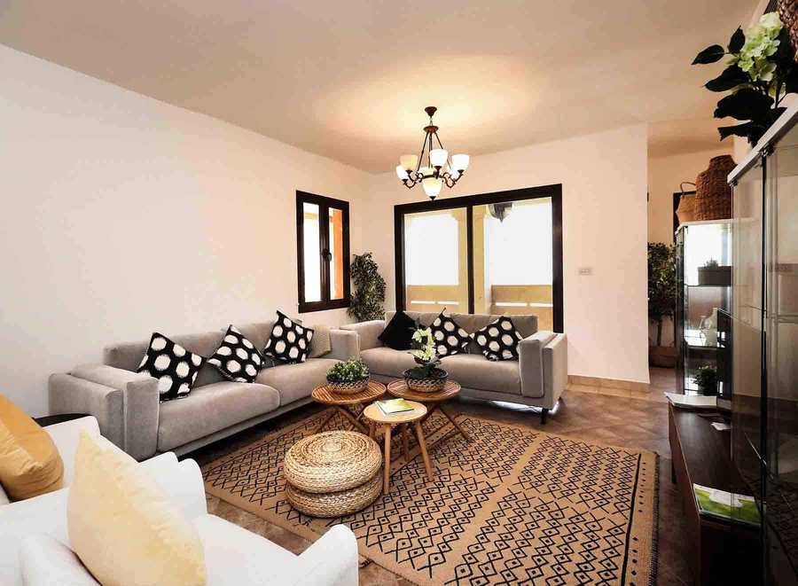 Al Badia Hillside – Living Room