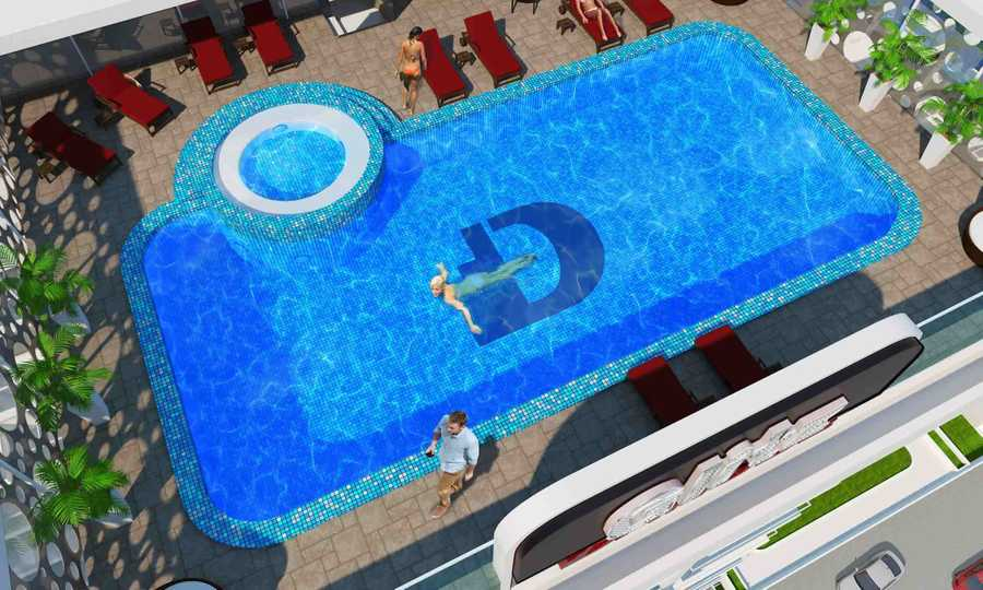 Glitz Residence 2 – Swimming Pool
