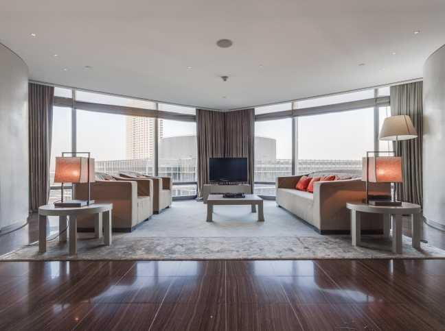 Armani Residences – Living Room