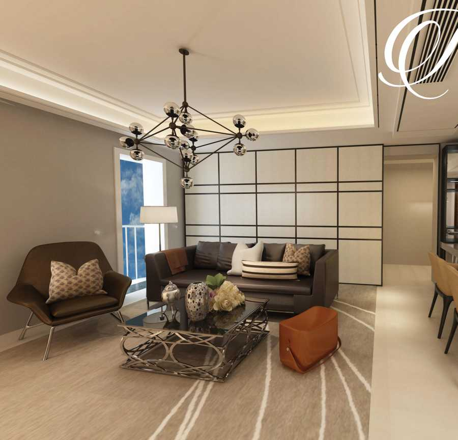 Victoria Residency – Living Room