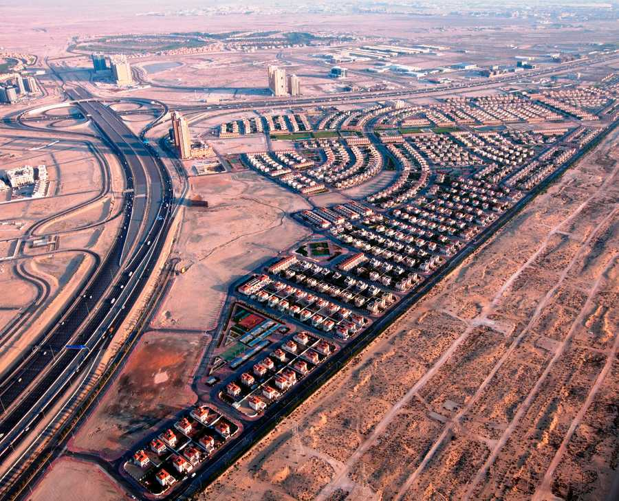 Jumeirah Village Triangel – Aerial View