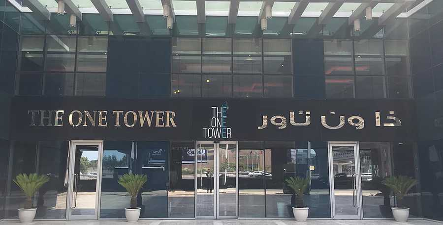 The One Tower – Entrance