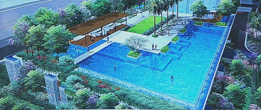Palm Beach Residences – Swimming Pool