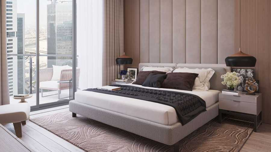 Ahad Tower – Bedroom