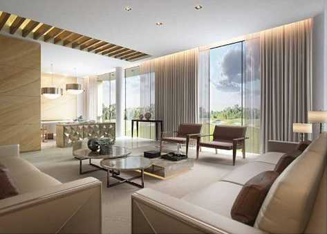 The Turf Villas – Living Area