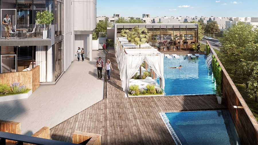 Q Gardens Boutique Residences – Pool Area