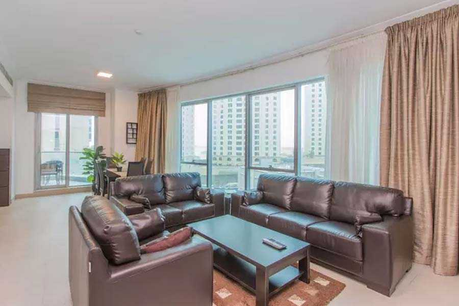 Aurora Tower – Living Room