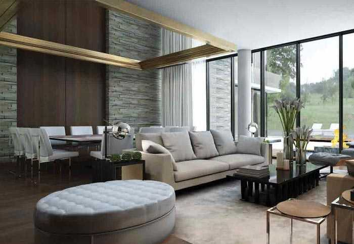 Damac Hills – Living Room
