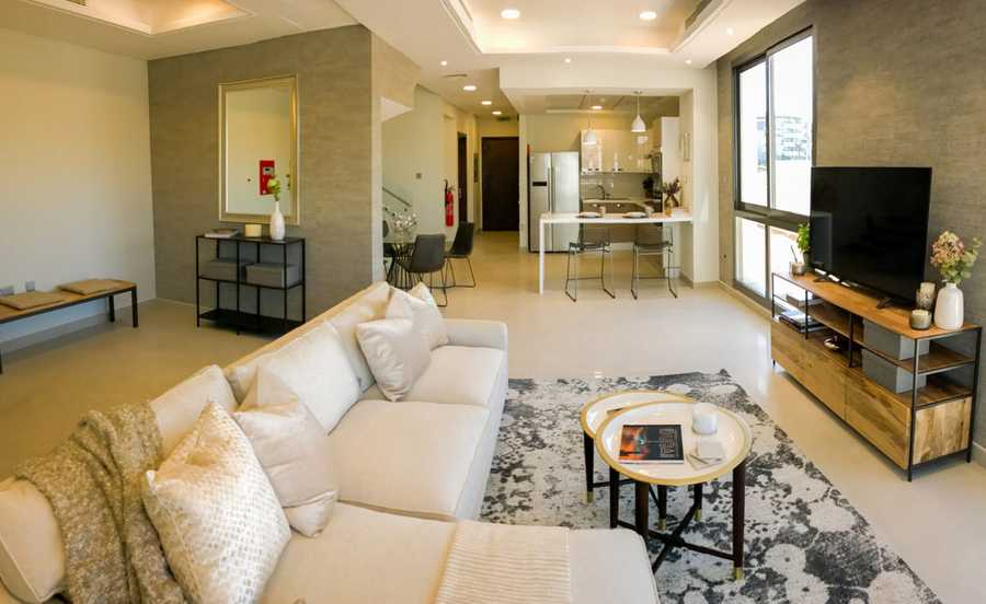 Oxford Villas  – Living Room
