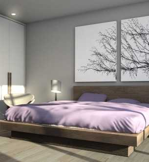 Platinum Residence – Bedroom