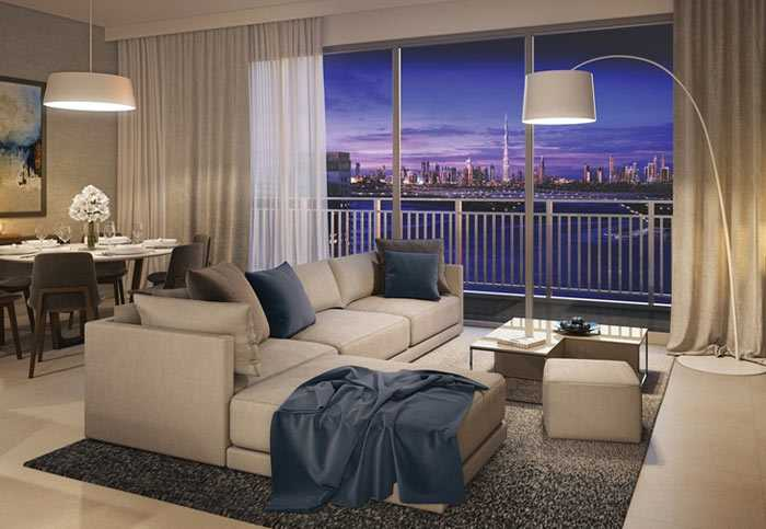 Harbour Views – Living Room