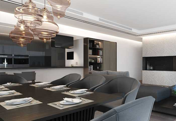 La Reserve Residences – Dining Area