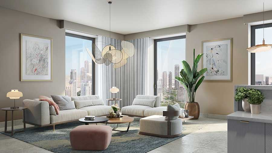 Vida Residences The Creek – Living Room