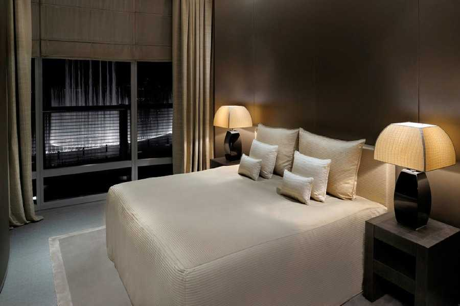Armani Residences – Bedroom