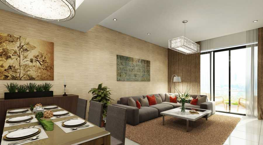 Laya Residences – Living Room